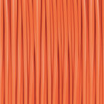 lava orange 3D printer filament
