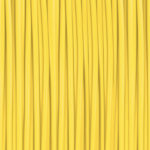 sun yellow 3D printer filament